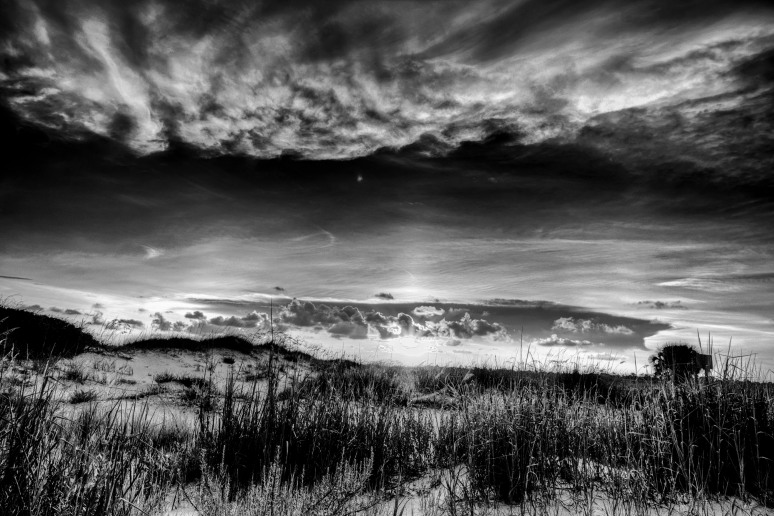 Pensacola-Sunset-B&W-web